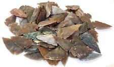 "Flint Arrow Head Big 2"" Inches Flint Stone l10 Arrowheads Natural Stone Crafted"