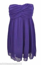 Festliche ärmellose Damenkleider mit One Shoulder-Ausschnitt aus Polyester