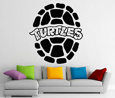 Turtles Ninja Shell Wall Decal Vinyl Sticker Teenage Mutant Art Decor Mural 129z