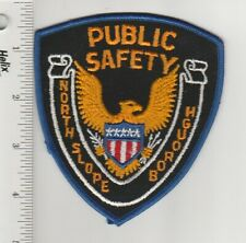 US Police Patch North Slope Borough Alaska Department Of Public Safety