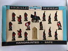 Vintage Britains Herald Models Highlanders Hand Painted Figure Set #7109