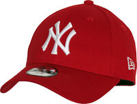 NY Yankees New Era 940 Kids Scarlet Baseball Cap (Age 4 - 10 years)