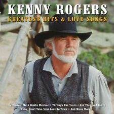 Kenny Rogers - Greatest Hits & Love Songs (2CD 2013) NEW/SEALED