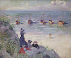 Theo van Rysselberghe On The Dunes Fine Art Wall Print on Canvas Giclee Small