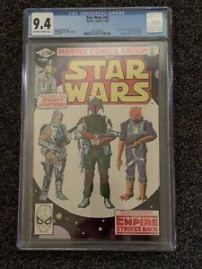 Star Wars Comic Book Marvel No 42 1st Appearance Bobba Fett CGC 9.4