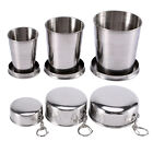 Stainless Steel Portable Outdoor Camping Travel Foldable Collapsible Cup S/M/L H