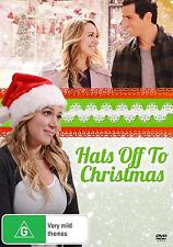 HATS OFF TO CHRISTMAS (2013) Region 1 [DVD] Haylie Duff Antonio Cupo