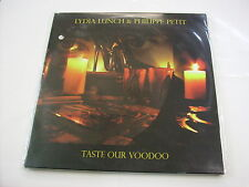 LYDIA LUNCH / PHILIPPE PETIT - TASTE OUR VOODOO - 2LP VINYL NEW SEALED 2013