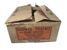 EMPTY BOX VTG Lionel Trains 1463 W Freight Train W/ Whistle Outer Empty Box Only