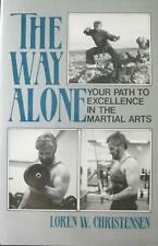 1987 THE WAY ALONE BY LOREN W. CHRISTENSEN BLACK BELT KARATE KUNG FU MARTIAL ART