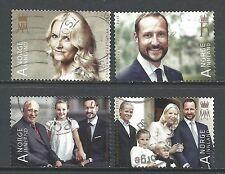 ˳˳ ҉ ˳˳NO27 Norway Norge Royals Mette-Marit Tjessem & Haakon 2013 Wedding