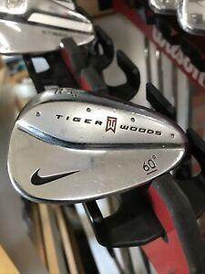 Nike Tiger Woods 60 Degree Lob Wedge Nike Golf Wedge Flex Steel Shaft 3016