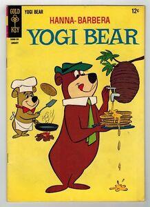 YOGI BEAR #27 - GOLD KEY/1967