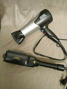 USA Conair Hairdryer and ceramic straighteners - USA spec and plug