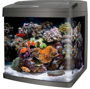 CORALIFE BIO CUBE LED AQUARIUM 16 Gallon -Make Offer- Opened Box
