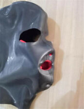 Latex MASK with Red Mouth Red NOSE tube