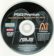 ASUS P5E3 PREMIUM WIFI Motherboard Drivers Installation Disk M1283