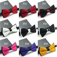 Mens Fashion Bow Neck Tie Tuxedo Classic Adjustable Wedding Party Necktie Bowtie