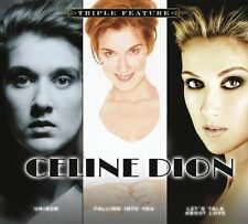 Triple Feature by Celine Dion (CD, Oct-2012, BMG distributor) BRAND NEW, SEALED