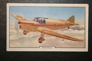 Miles Monarch    1930's  Original Vintage Card # CAT B