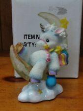 Vintage 1995 Enesco Starlight Starbright Unicorn Collection Follow Your Dreams