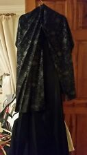 your 6th Sense midnight Blue Evening dress and shawl size 20