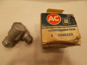 NOS AC GM Right Angle Speedometer Fitting Adapter GMC Chevrolet Pontiac 1565212