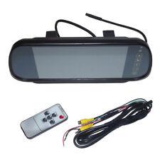MONITOR TFT LCD RGB SPECCHIO RETROVISORE SPECCHIETTO DA AUTO 2 CANALI VIDEO