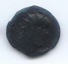 double sesterce de Postume surfrappé; sur un dupondius de Caligula sur Agrippa