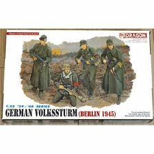 Dragon DRA6020 German Volkssturm Berlin 1945 1/35 scale plastic model kit