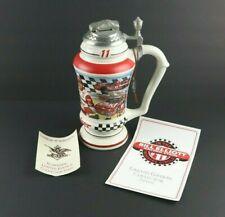 Budweiser Anheuser-Busch Bill Elliot Limited Edition Lidded Racing Beer Stein
