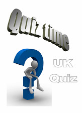 ✞ UK Quiz ~ 100+ Questions and Answers For Club Quizzes