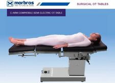 C-ARM COMPATIBLE SEMI-ELECTRIC OT TABLE UP AND DOWN BY REMOTE OPERATING TABLE