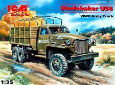 STUDEBAKER US6 - WW II AMERICAN TRUCK (USAAF, POLISH, CZECH MKGS) 1/35 ICM
