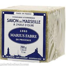 Angebot 12x 200 g Le Cube Marseiller Seife Savon Marseille Marius Fabre Olivenöl