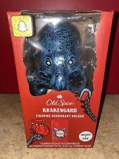 Old Spice Krakengard Figurine Deodorant Holder with Deodorant. NEW