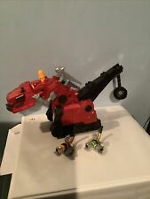 Dinotrux toy. Talking.