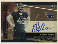 2019 Unparalleled D'Andre Walker RC Cosmos Variation Rookie Auto #284