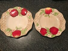 Two Cracker Barrel Sweet And Savory Apple Plates NWT