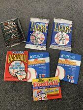 Vintage Baseball Trading Cards - 1991 - Sealed Packs
