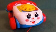 Fisher Price Bebé Juguete-Chatter Clásico niño Tire a lo largo de teléfono-ayuda a Dev
