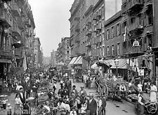 1901 Mulberry Street, New York Little Italy 8 x 10 Photograph