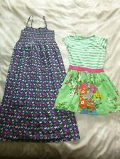 girls cotton dress X 2 age  8 (next/m&s)