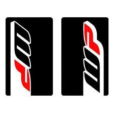 4MX Fork decals WP Noir Autocollants Pour DERBI 50 Senda R DRD RACING 06-08