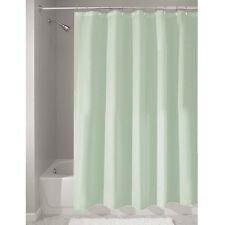 "Shower Curtain Mold and Mildew Free Waterproof Fabric Bath 72""x72"" SeaFoam Green"