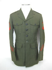 USMC US Marine Corps Sergeant E-5 Dress Alpha Jacket Military Coat 37L