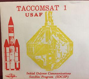 US SPACE COVER- TACCOMSAT 1- INFORMATIVE COLOR ORBIT COVER CACHET FEB 9,1969