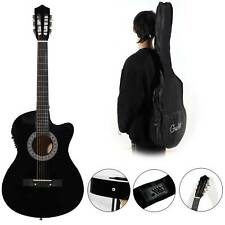New Beginner Adult Student Full Size Acoustic Guitar Pack Starter Package Outfit