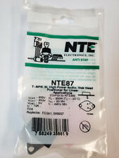 Nte87 T Npn Si High Power Audio Disk Head Positioner For Linear Applications