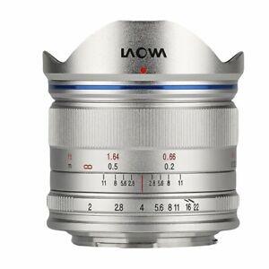 Venus Laowa 7.5mm f/2 for Micro Four Thirds Camera Panasonic Olympus Silver